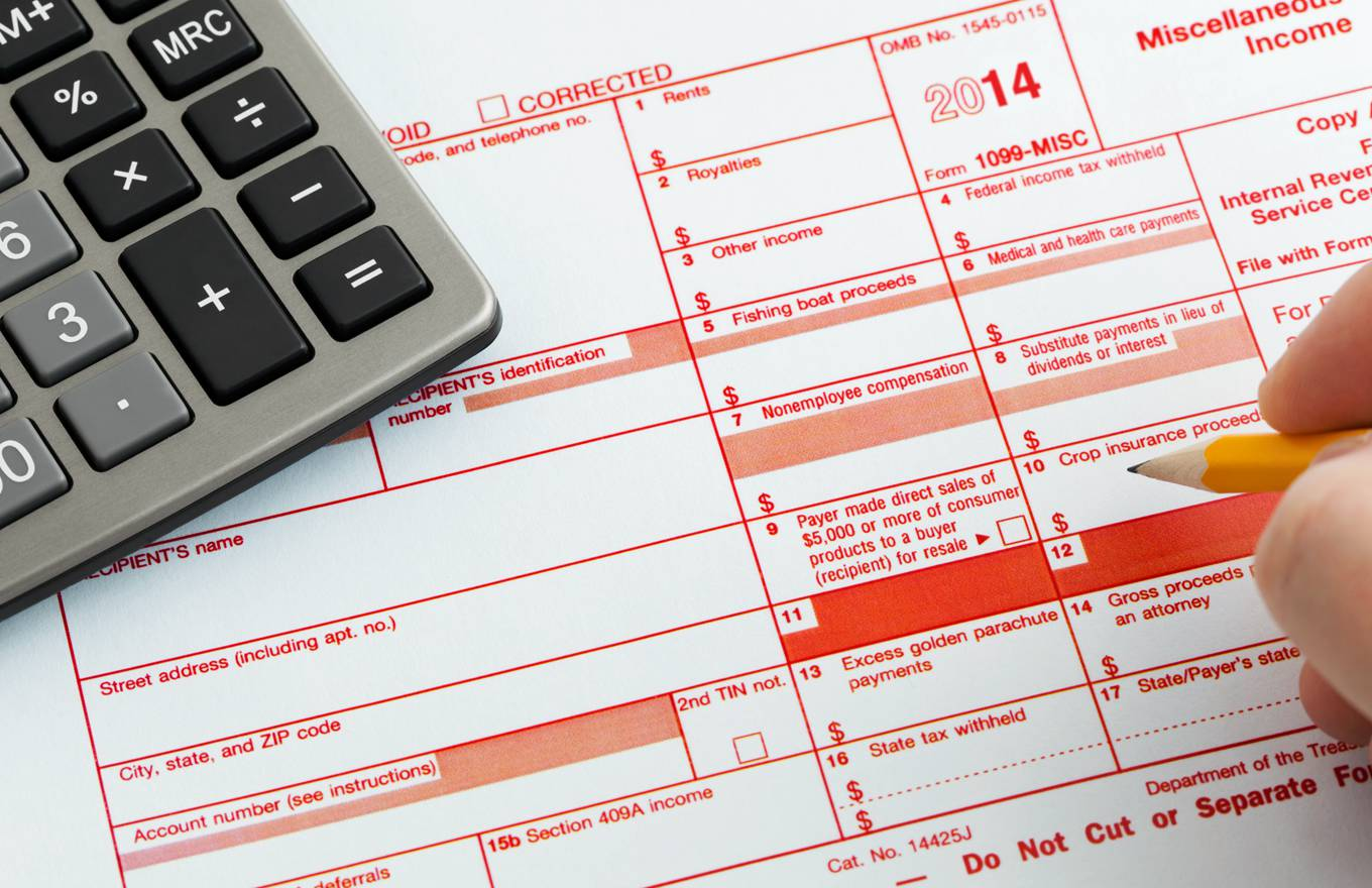 What To Do With Form 1099 Misc