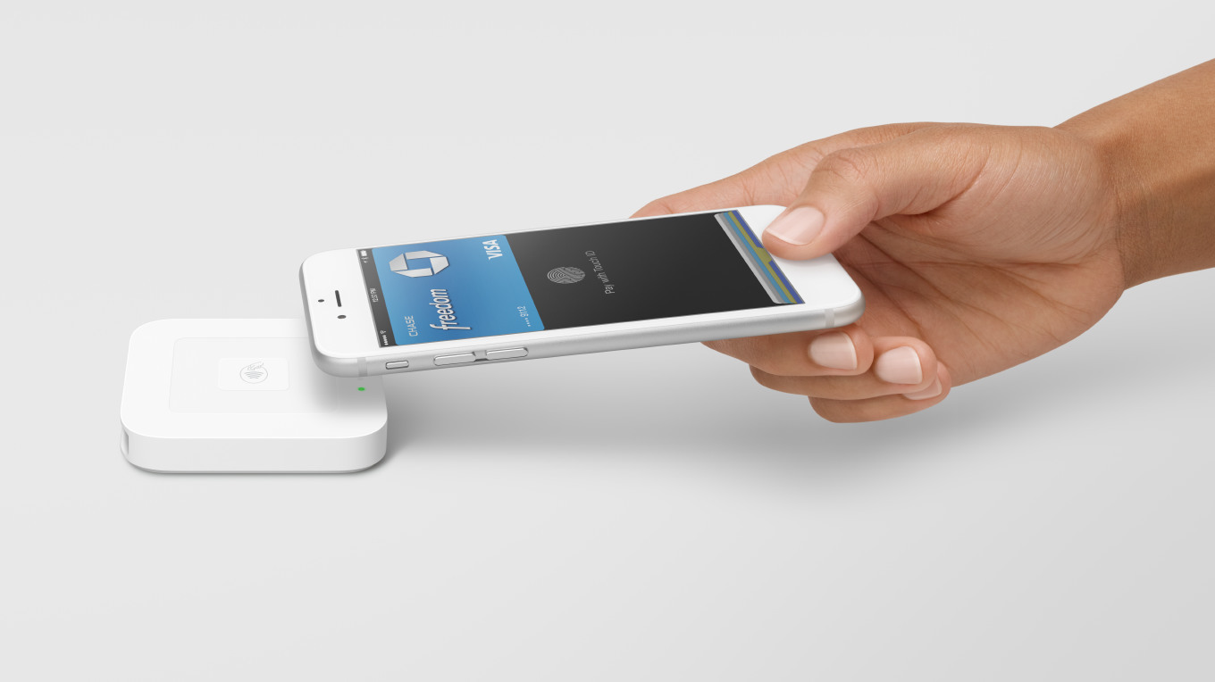 Square contactless and chip card mpos terminal