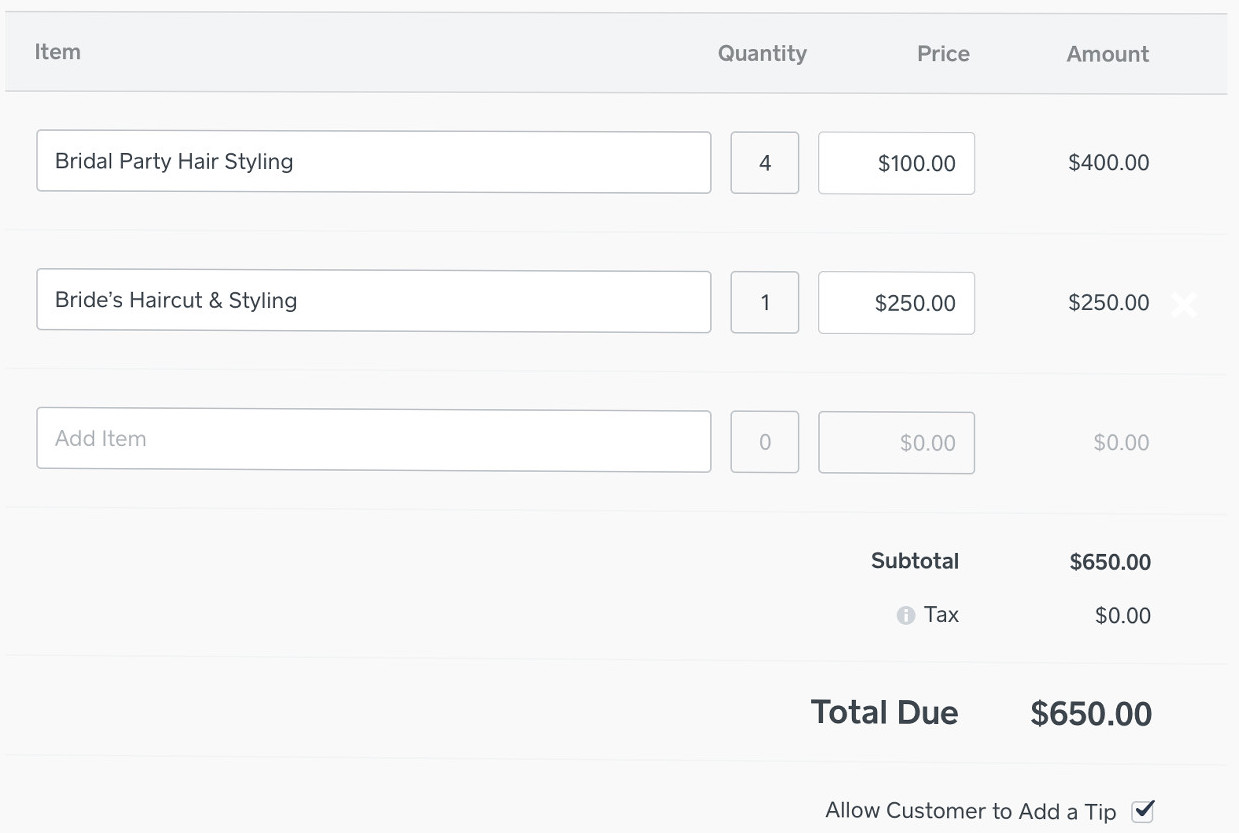 the sky s the limit introducing custom tipping in square invoices