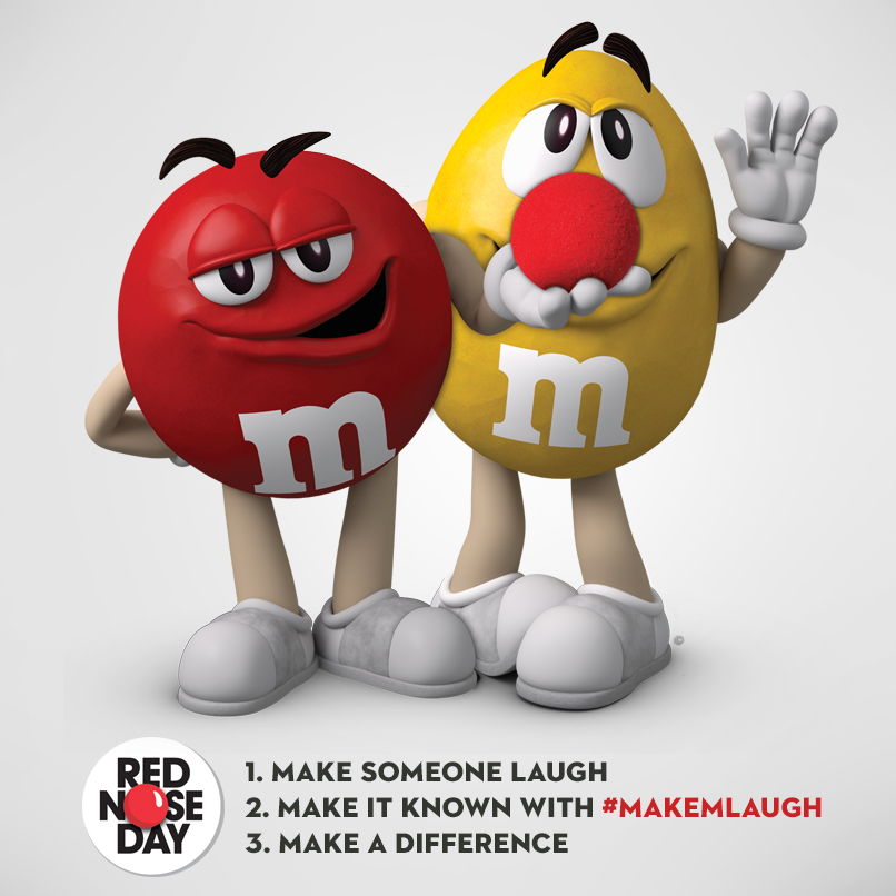 M&M's Red Nose Day
